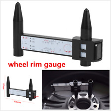 Portable Wheel Bolt Pattern Gauge Tool 4 5 6 8 Lug Pattern Quick Measure Slide