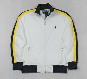 Polo Ralph Lauren Jacket Athletic Track Full Zip L Large NWT $125