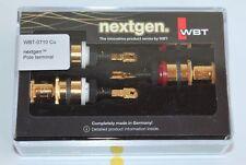WBT 0710 Cu nextgen 4Stück. Polklemme  neue Ausführung in OVP