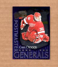 1997-98 Donruss Priority Postmaster Generals #8 Chris Osgood 0034/1500 Detroit