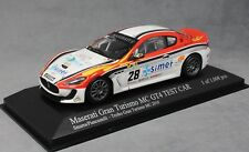 Minichamps Maserati Gran Turismo MC GT4 2010 Piancastelli Smurra 400101228 1/43