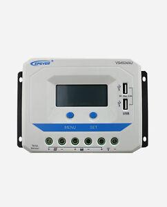 EPEVER® VS4524AU PWM Laderegler ViewStar 45A automatische Erkennung 12V/24V LCD