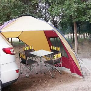 SUV Awning Tent Sun ShelterWaterproof  Trailer Awning Portable Car  3-4 Persons