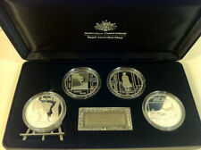 Australia 2006 Art Masterpieces in Silver $5 x 4 Proof Coins Collection Perfect