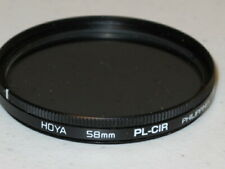 58mm --- Hoya CPL Circular Polarizing  Filter Polarizer Excellent +++  #52m6hc2