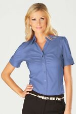 Ico Uniforms Women's Button-up Shirt, size M, purple,  NWT