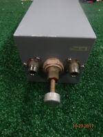 """EMR Corp UHF Radio Repeater Band pass Cavity filter 4"""" x 12"""" square FAST SHIP #C"""