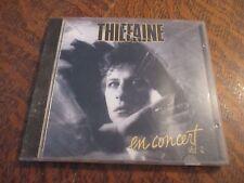 cd album HUBERT-FELIX THIEFAINE en concert volume 2