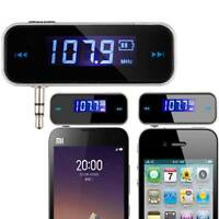 FM Transmitter In-Car Wireless 3.5mm Radio Adapter for Cell Phone Audio Player