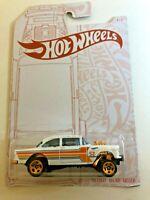 Hot Wheels Pearl '55 Chevy Bel Air Gasser Anniversary Pearl & Chrome