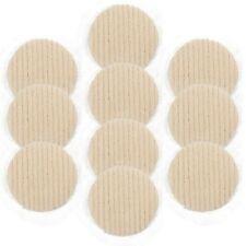 "10pk - 3"" Wool Buffing/Polishing Pad Hook and Loop - Made in Japan"