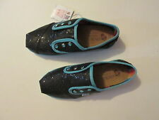 Girls Lil BOBS shoes black size 2 M new