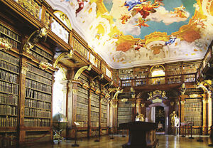 1000Piece Jigsaw Puzzle Melk Abbey Library Hobby Home Decoration DIY