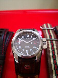 Hamilton 6311 Khaki Automatic With Straps