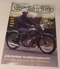 Classic Bike 6/88 Norton Commando, Rudge Ulster y Deportes, Inigualable G3/L, MV 800