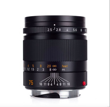 Brand New Leica SUMMARIT-M 75mm F/2.5 6-Bit f/2.5 11645 M 240 M9 M10