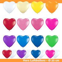 Luftballon Herz Deko Ballon Helium Herzballons Hochzeit Geburtstag Party Heart
