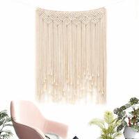 Boho Large Macrame Wall Hanging Decor Wedding Backdrop Window Covering Curtain