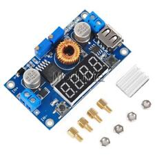 5A CC CV LED Drive Lithium charger Power Step-down Module W/ USB Voltmeter - UK