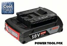 savers Bosch BLUE PRO Li-ION CoolPack 2.0ah18V BATTERY 2607336905 1600Z00036 591