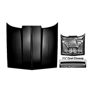 78 - 87 El Camino Cowl Induction Hood - With Bug Screen