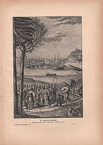 1903 HISTORICAL GERMAN PRINT ~ FINDING GOLD