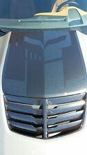 C7 Corvette Jake Hood Decal One Piece, Two Tone Carbon Flash, Stingray Hood ONLY