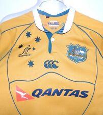 Australian Rugby Union Wallabies Team Replica Jersey Canterbury Qantas Medium