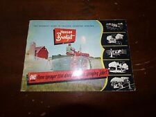 Vintage Hanson Brodjet Tractor Mounted Sprayers Brochure Beloit Wisconsin