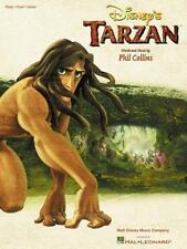 Disney's TARZAN Phil Collins PIANO VOCAL GUITAR Sheet Music COLOR PICTURES Book