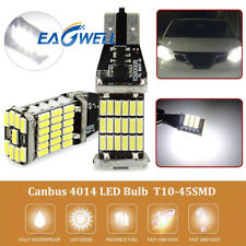 White T15 W16W 45 SMD 4014 Canbus Error Free LED Car Reverse Backup Light Bulb W