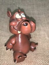 Hippo Animal Bobble Head Figurine