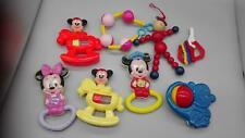 8 Baby - Rasseln / Spielzeug , u.a. Micki Maus / Mickey Mouse
