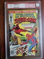 SPECTACULAR SPIDER-MAN 1 CGC 9.8 1976 RED LABEL