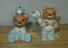 New ListingHomco/Home Interiors Set of 2 - Bears in Dinosaur Pajamas Figurines, #1438