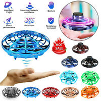 360 Mini Drone Smart UFO Aircraft for Kids Auto Flying Toys RC Hand Control Gift