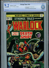 Strange Tales #179 Warlock Marvel Comics CBCS 9.2 NM- 1975 1st Pip