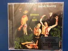 HARSH. REALITY.           HEAVEN AND. HELL.         CD. ON ESOTERIC RECORDINGS.