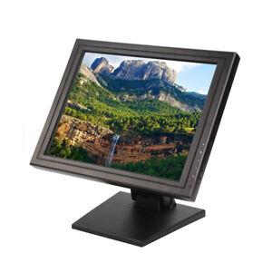 "17"" Touch Screen POS TFT LCD TouchScreen Monitor Restaurant Retail Kiosk USA"