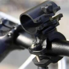 360 ° Drehbar Fahrrad Halterung Halter Clip Clamp Für Led Taschenlampe Neu