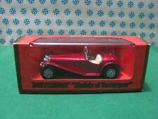 Vintage  -  RILEY  MPH  1934  Red           - Matchbox N° Y-3    Mint box