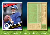 1984 Topps Style DANIEL JONES Custom Artist Novelty NFL Football Card