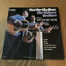 """The Wilburn Brothers """"Two For The Show"""" (LP, 1967) Decca Records DL 74824"""