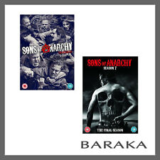 SONS OF ANARCHY COMPLETE SEASON SERIES 6 & 7 DVD box set R4 New Sealed