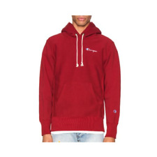 Champion Reverse Weave Small Script Hooded Sweatshirt - Medium