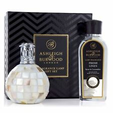 Ashleigh & Burwood Arctic Tundra and Fresh Linen Premium Fragrance Lamp Gift Set
