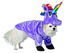 New Rasta Imposta Purple Unicorn Dog Costume, Halloween, Size X-Large