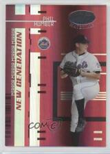 2005 Leaf Certified Materials Mirror Red /100 Phil Humber #231 Rookie