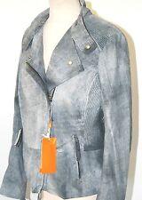 Hugo Boss Orange Leder-Jacke Gr.42 499€ Neu Lederjacke Jumme Jacket Biker