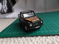 Mercedes Benz G Class Black Klasse Diecast Cararama Toy Car Off Rd Jeep Circus
